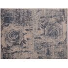 Adalrik Hand-Knotted Wool Light Gray/Ivory Area Rug