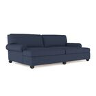 Austin Linen Daybed Color: Blue