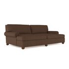 Austin Linen Daybed Color: Brown