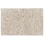 Harmony Hand Knotted Wool/Silk Light Beige Area Rug Rug Size: Rectangle 6' x 9'