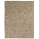 Hand-Woven Wool Brown Area Rug Rug Size: Rectangle 8' x 10'