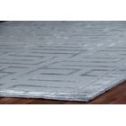 Hand-Knotted WoolSilver Area Rug Rug Size: Rectangle 9' x 12'