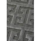 Kingsley Hand-Woven Charcoal Area Rug Rug Size: Rectangle 8' x 10'