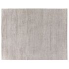 Perry Hand-Knotted Silk Light Gray Area Rug Rug Size: Rectangle 6' x 9'
