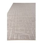 One-of-a-Kind Samara Hand-Made Gray Area Rug Rug Size: Rectangle 10' x 14'