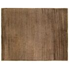 Mosaic Hand Knotted Wool/Silk Chocolate Area Rug Rug Size: Rectangle 15' x 20'