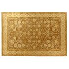Ziegler Hand-Knotted Wool Gold Area Rug Rug Size: Rectangle 8' x 10'