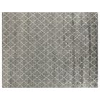 Luxe Look Hand-Knotted Silk Silver Area Rug Rug Size: Rectangle 9' x 12'