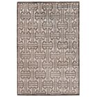 Hand-Knotted Silk Dark Brown Area Rug Rug Size: Rectangle 12' x 15'