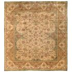 Polonaise Hand Knotted Wool Ivory/Beige Area Rug Rug Size: Rectangle 14' x 16'