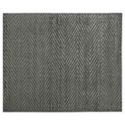 Kingsley Hand-Knotted Silk Dark Gray Area Rug Rug Size: Rectangle 12' x 15'