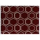 Hand-Woven Wool Red Area Rug Rug Size: Rectangle 8' x 11'