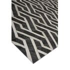 Berlin Charcoal/Ivory Area Rug Rug Size: Rectangle 5' x 8'
