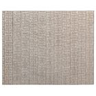 Kingsley Hand-Woven Silk Light Silver Area Rug Rug Size: Rectangle 10' x 14'