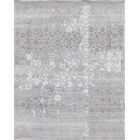 Beverly Hand-Knotted Gray Area Rug Rug Size: Rectangle 9' x 12'