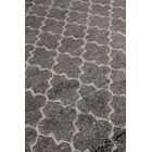 Luxe Look Hand-Knotted Silk Gray Area Rug Rug Size: Rectangle 10' x 14'