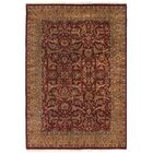 Moghul Hand-Knotted Wool Red/Gold Area Rug Rug Size: Rectangle 9' x 12'