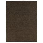 Wool Dark Brown Area Rug Rug Size: Rectangle 8' x 10'