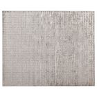 Kingsley Hand-Loomed Silver Area Rug Rug Size: Rectangle 9' x 12'