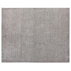 Duo Hand Woven Wool/Silk Gray Area Rug Rug Size: Rectangle 9' x 12'