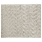 Kingsley Hand-Woven Silver Area Rug Rug Size: Rectangle 9' x 12'