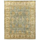 Oushak Hand-Knotted Wool Light Blue/Ivory Area Rug Rug Size: Rectangle 4' x 6'