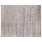 Hand-Knotted Light Gray Area Rug Rug Size: Rectangle 10' x 14'
