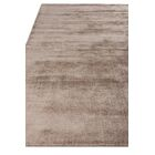 Duo Hand Woven Wool/Silk Brown Area Rug Rug Size: Rectangle 9' x 12'