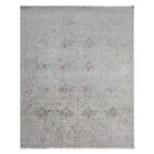 Beverly Hand-Knotted Ivory Area Rug Rug Size: Rectangle 8' x 10'
