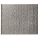 Hand-Knotted Wool/Silk Silver Area Rug Rug Size: Rectangle 10' x 14'