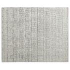 Kingsley Hand Loomed Silver Area Rug Rug Size: Rectangle 8' x 10'