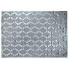 Hand-Knotted Wool/Silk Aqua Area Rug Rug Size: Rectangle 14' x 18'