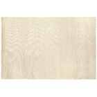 Dove Courduroy Hand-Woven White Area Rug Rug Size: 9' x 12'