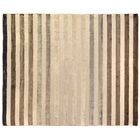 Rugby Tunnel Hand-Woven Ivory Area Rug Rug Size: 10' x 14'