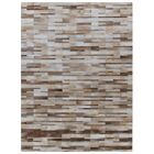 Natural Hide Hand-Tufted Cowhide Beige/Ivory Area Rug Rug Size: Rectangle 14' x 18'