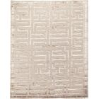 Thompson Hand-Knotted Wool Beige Area Rug Rug Size: Rectangle 10' x 14'