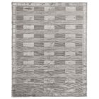 Olson Hand-Knotted Wool Silver Area Rug Rug Size: Rectangle 12' x 15'