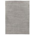 Hand-Woven Silver Area Rug Rug Size: 10' x 14'