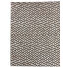 Beige/Silver Area Rug Rug Size: Rectangle 8' x 11'