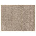 Hand-Woven Wool Beige Area Rug Rug Size: Rectangle 9' x 12'
