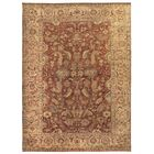 Serapi Hand-Knotted Wool Rust Area Rug Rug Size: Rectangle 8' x 10'