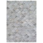 Natural Hide Hand-Tufted Cowhide Silver/Ivory Area Rug Rug Size: Rectangle 11'6