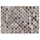 Natural Hide Hand-Tufted Cowhide Ivory/Gray Area Rug