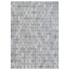 Natural Hide Hand-Tufted Cowhide Silver/Ivory/Gray Area Rug Rug Size: 9'6