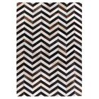 Natural Hide Hand-Tufted Cowhide Brown/Black/Ivory Area Rug Rug Size: Rectangle 8' x 11'