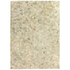 Natural Hide Hand-Tufted Cowhide Ivory Area Rug Rug Size: Rectangle 5' x 8'