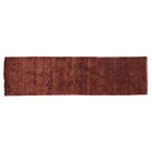 Metropolitan Hand-Knotted Wool Rust/Gold Area Rug Rug Size: Runner 2'6