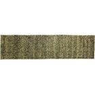 Metropolitan Hand-Knotted Wool Sage Green/Beige Area Rug Rug Size: Runner 2'6