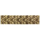 Metropolitan Hand-Knotted Wool Chocolate/Beige Area Rug Rug Size: Runner 2'6