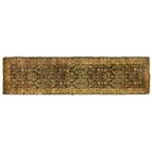 Millefleur Hand-Knotted Wool Navy/Green Area Rug
